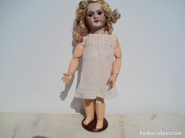 Muñecas Porcelana: PRECIOSA MUÑECA DEP JUMEAU, CABEZA DE BISCUIT, 1900,1915, 50 CM. - Foto 7 - 288014213