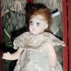 Muñecas Porcelana: ANTIGUA MUÑEQUITA DE PORCELANA BOCA CERRADA FINALES SIGLO XIX. Lote 27616778