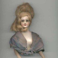 Muñecas Porcelana: BUSTO MUJER DE PORCELANA AÑOS 40. Lote 26496317