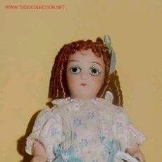 Muñecas Porcelana: MUÑEDA DE PORCELANA ,PARA CASA DE MUÑECAS . Lote 26697454