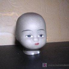 Muñecas Porcelana: CABEZA DE PORCELANA NEGRITO ( ANTIGUA ). Lote 10781509