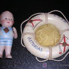 Muñecas Porcelana: MUÑECA DE PORCELA , RECUERDO DE ASTURIAS , MARCA DOLEY, ANTIGUA. Lote 15637831