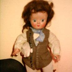 Muñecas Porcelana: MUÑECA DE BISQUE UNICA DE BELGICA.. Lote 16585112