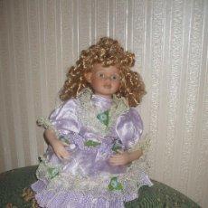 Muñecas Porcelana: PRECIOSA MUÑECA DE PORCELANA. Lote 20161832
