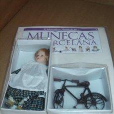 Muñecas Porcelana: MUÑECA PORCELANA + BICICLETA -EL MARAVILLOSOS MUNDO DE ..... -ENTREGA Nº 3 PLANETA. Lote 12178680