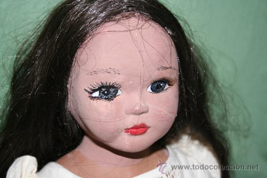 Muñecas Porcelana: antigua muñeca de barro - Foto 2 - 27252121