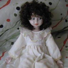 Muñecas Porcelana: MUÑECA DE PORCELANA. Lote 24465610