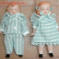 Muñecas Porcelana: PAREJA MUÑECOS MUÑECA PORCELANA. Lote 17896897