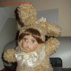 Muñecas Porcelana: ESPECTACULAR MUÑEQUITA CONEJITA, FRANCESA, REBAJADA DE 65 A 35¡¡¡¡. Lote 26466554