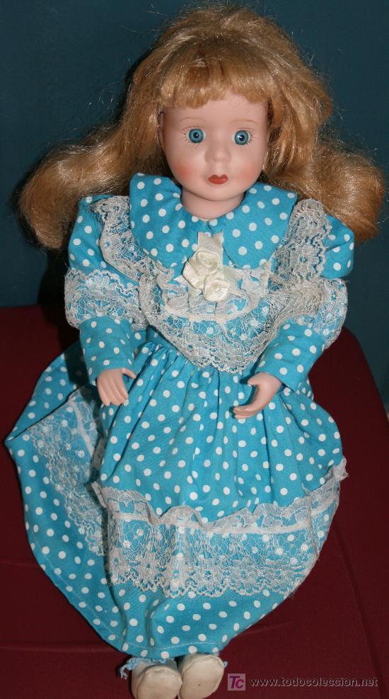 Muñecas Porcelana: MUÑECA DE PORCELANA DE ORIGEN DESCONOCIDO - Foto 2 - 26651677