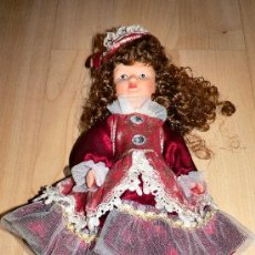 Muñecas Porcelana: MUÑECA DE PORCELANA DE 24 CM. NUEVA. Lote 10722706