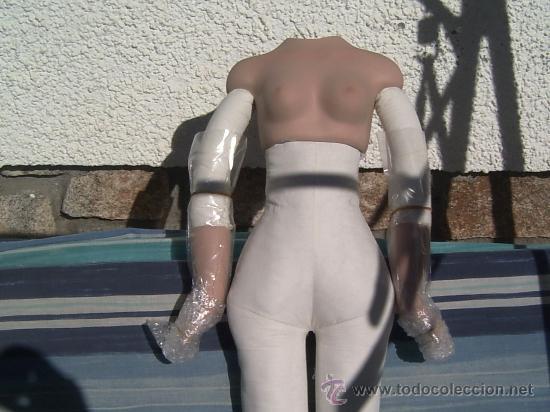 Muñecas Porcelana: cuerpo de muñeca de porcelana - Foto 2 - 25301869