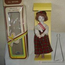 Muñecas Porcelana: MUÑECA DE PORCELANA,CAJA ORIGINAL. Lote 21385446