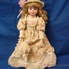 Muñecas Porcelana: MUÑECA DE PORCELANA - AÑOS 70/80. Lote 27515784