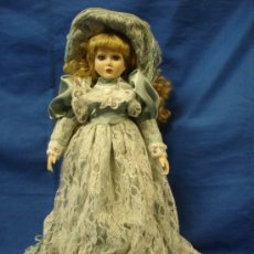 Muñecas Porcelana: MUÑECA DE PORCELANA DE 45 CM. DE ALTA - AÑOS 70/80. Lote 26929155