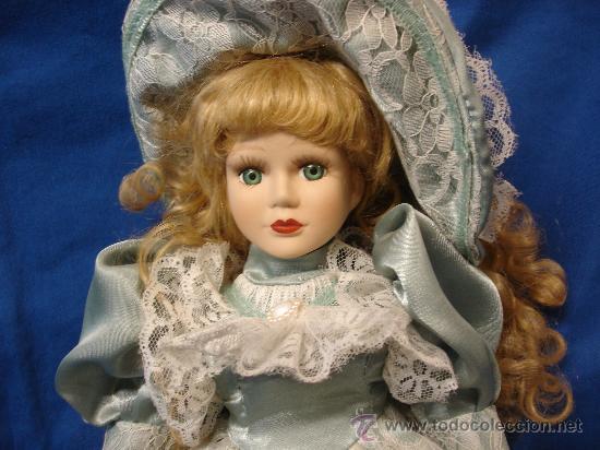 Muñecas Porcelana: MUÑECA DE PORCELANA de 45 cm. DE ALTA - AÑOS 70/80 - Foto 7 - 26929155