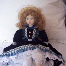 Muñecas Porcelana: MUÑECA DE PORCELANA 44 CM.. Lote 15855009