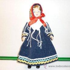 Muñecas Porcelana: MUÑECA PORCELANA TRAJE TÍPICO NORUEGA. Lote 19890849