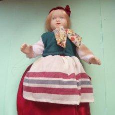 Muñecas Porcelana: MUÑECA DE PORCELANA CON EL TRAJE DE SUECIA NUEVA . Lote 26008090