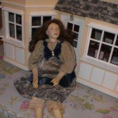 Muñecas Porcelana: ANTIGUA MUÑECA PARECE DE PORCELANA. Lote 26999589