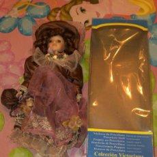 Muñecas Porcelana: MUÑECA VICTORIANA 30 CM. PORCELANA COLECCION VICTORIANA NUEVA. Lote 24382589
