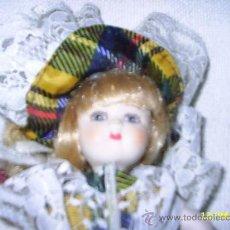 Muñecas Porcelana: MUÑECA DE PORCELANA COMPLETA - MIDE23 CM. Lote 26974498