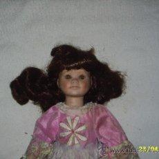 Muñecas Porcelana: MUÑECA DE PORCELANA - MIDE 40 CM DE ALTA. Lote 25662448
