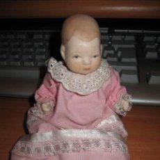 Muñecas Porcelana: MUÑEQUITO DE PORCELANA CUERPO UNID POR GOMAS . Lote 26067192