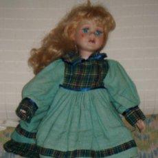 Muñecas Porcelana: MUÑECA PORCELANA ALEMANA. Lote 27787304
