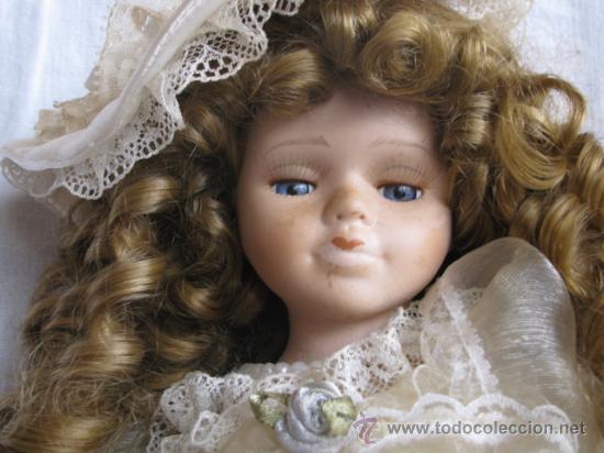 Muñecas Porcelana: muñeca porcelana con rizos - Foto 2 - 27888614