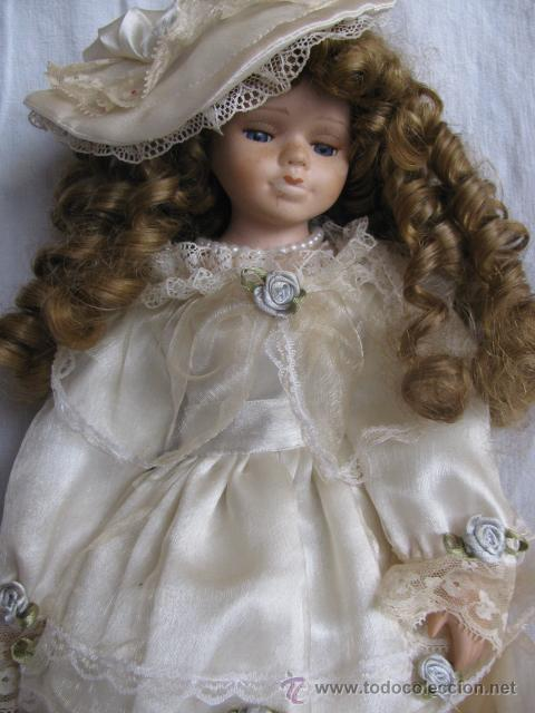 Muñecas Porcelana: muñeca porcelana con rizos - Foto 3 - 27888614