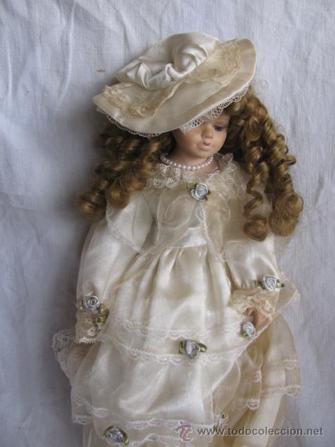 Muñecas Porcelana: muñeca porcelana con rizos - Foto 4 - 27888614