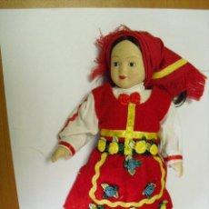 Muñecas Porcelana: MUÑECA DE PORCELANA, DE 21 CENTIMETROS. Lote 28076507