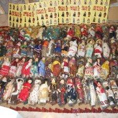 Muñecas Porcelana: MAGNÍFICA COLECCIÓN COMPLETA DE 80 MUÑECAS DE PORCELANA DEL MUNDO + 8 TOMOS ENCUADERNADOS + ENVÍO. Lote 28419766