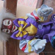 Muñecas Porcelana: MUÑECO PAYASO DE PORCELANA AÑOS 70 (PIE ROTO). Lote 29638021