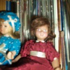 Muñecas Porcelana: DOS MUÑECAS DE PORCELANA. Lote 29715525