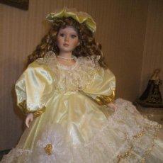Muñecas Porcelana: PRECIOSA MUÑECA DE PORCELANA DE GRAN TAMAÑO. Lote 29935637