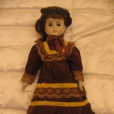 Muñecas Porcelana: MUÑECA PORCELANA ANTIGUA. Lote 30609267