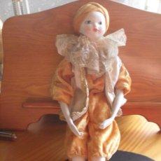 Muñecas Porcelana: MUÑECA DE PORCELANA MIDE 40 CMS DE ALTO. Lote 30620323