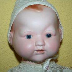 Muñecas Porcelana: ANTIGUO MUÑECO DE PORCELANA INGLESA . Lote 31022139