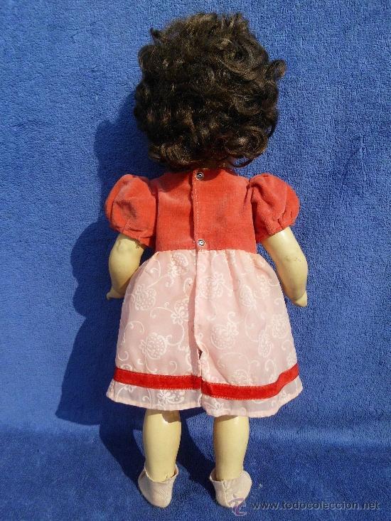 Muñecas Porcelana: Muñeca con cuerpo de composición y cabeza porcelana años 40 - Foto 6 - 31076628