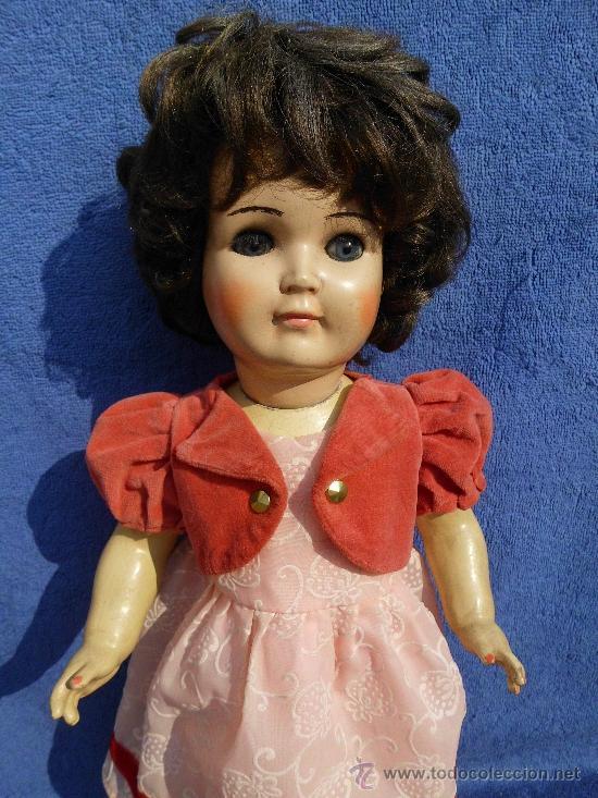 Muñecas Porcelana: Muñeca con cuerpo de composición y cabeza porcelana años 40 - Foto 2 - 31076628