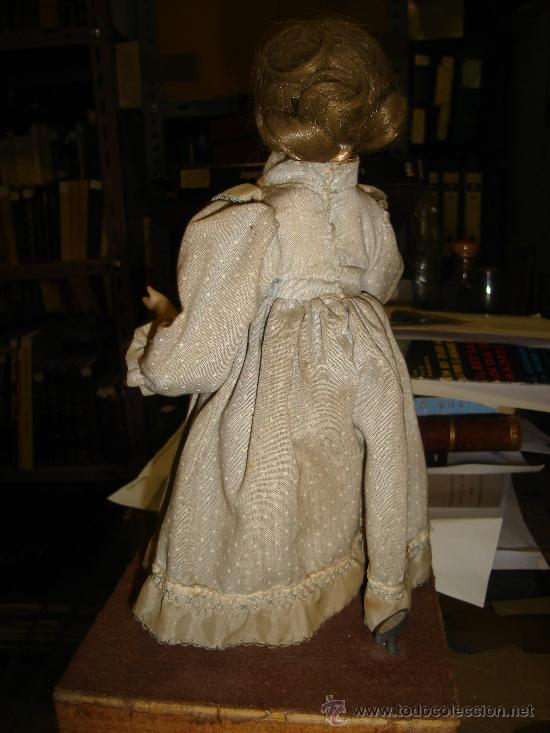 Muñecas Porcelana: ANTIGUA MUÑECA AUTÓMATA DE PORCELANA, 33 POR 15CM, VER VÍDEO - Foto 2 - 31992507