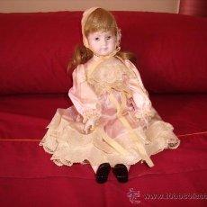 Muñecas Porcelana: PRECIOSA MUÑECA DE PORCELANA AÑOS 70. Lote 32113945