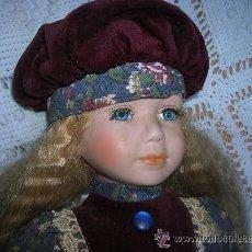 Muñecas Porcelana: MUÑECA DE PORCELANA 40 CMS. ALTURA. Lote 32218611