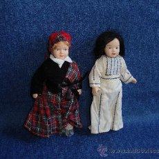 Muñecas Porcelana: PAREJA DE MUÑECAS DE PORCELANA. Lote 32927920