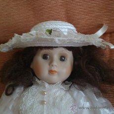 Muñecas Porcelana: MUÑECA DE PORCELANA, MIDE 45 CENTIMETROS. Lote 33040136