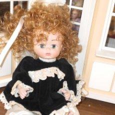 Muñecas Porcelana: GUAPA MUÑECA DE PORCELANA. Lote 33312911