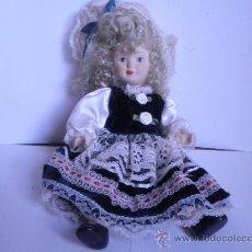 Muñecas Porcelana: MUÑECA PORCELANA 23 CM.. Lote 33354031