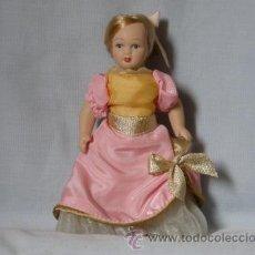 Muñecas Porcelana: MUÑECA KENSINTONG DE PORCELANA -CONCERTISTA DE ARPA- ***NUEVA*** . Lote 33558260